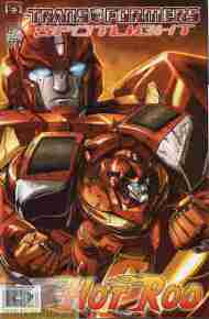 """Yesterday's"" Comic> Transformers Spotlight: Hot Rod"