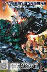 """Yesterday's"" Comic>Transformers Spotlight:Sixshot"