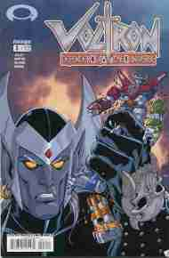 """Yesterday's"" Comic> Voltron: Defender Of The Universe #3 (Devil's Due)"
