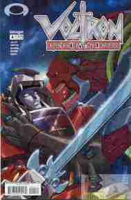 """Yesterday's"" Comic> Voltron: Defender Of The Universe #4 (Devil's Due)"