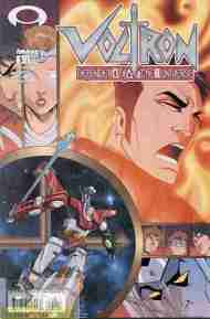 """Yesterday's"" Comic> Voltron: Defender Of The Universe #5 (Devil's Due)"