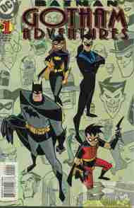 """Yesterday's"" Comic> Batman: Gotham Adventures #1"