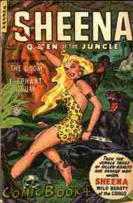 Seduction Of The Innocent Bonus: Sheena, Queen Of The Jungle