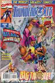"""Yesterday's"" Comic> Thunderbolts #5"