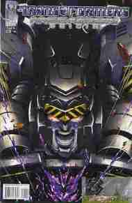 """Yesterday's"" Comic> Transformers: Megatron Origin"