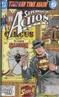 """Yesterday's"" Comic> Action Comics#663"