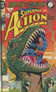"""Yesterday's"" Comic> Action Comics #664"