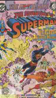 """Yesterday's"" Comic> Adventures Of Superman #477"