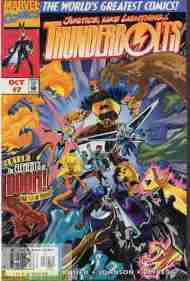 """Yesterday's"" Comic> Thunderbolts #7"