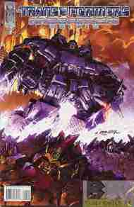 """Yesterday's"" Comic> Transformers: Megatron Origin #4"