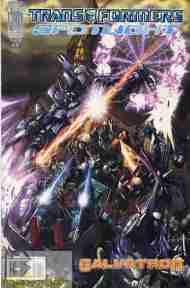 """Yesterday's"" Comic> Transformers Spotlight:Galvatron"