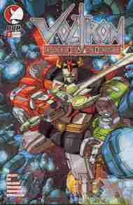 """Yesterday's"" Comic> Voltron v2 #7"