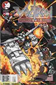 """Yesterday's"" Comic> Voltron v2 #8"