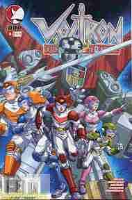 """""""Yesterday's"""" Comic> Voltron v2 #9 (Devil'sDue)"""