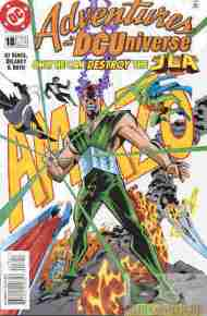 """Yesterday's"" Comic> Adventures In The DC Universe #18"