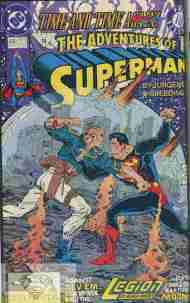 """Yesterday's"" Comic> Adventures Of Superman #478"