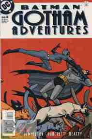 """Yesterday's"" Comic> Batman: Gotham Adventures #4"