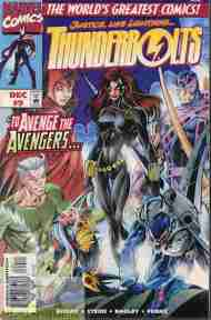 """Yesterday's"" Comic> Thunderbolts #9"