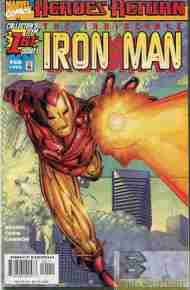 """Yesterday's"" Comic> Iron Man V3 #1"
