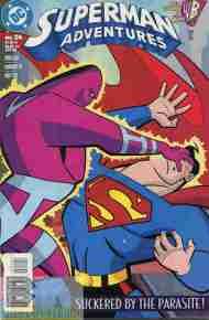 """""""Yesterday's"""" Comic> Superman Adventures#24"""