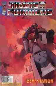 """Yesterday's"" Comic> Transformers: Devastation#5"