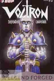 """Yesterday's"" Comic> Voltron: A Legend Forged #3"