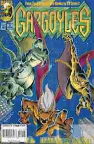 """""""Yesterday's"""" Comic> Gargoyles #2(Marvel)"""