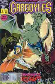 """Yesterday's"" Comic> Gargoyles #4 (Marvel)"