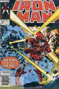 """Yesterday's"" Comic> Iron Man #230"