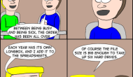 Jake & Leon #348: ComicOrganizing