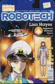 Today's Comics> Robotech #s 5 & 6