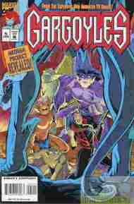 """Yesterday's"" Comic> Gargoyles #5 (Marvel)"