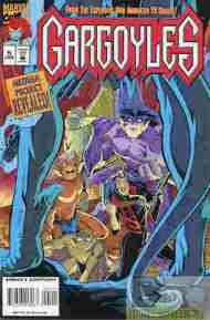 """""""Yesterday's"""" Comic> Gargoyles #5(Marvel)"""