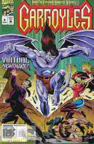 """Yesterday's"" Comic> Gargoyles #8 (Marvel)"