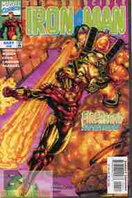 """Yesterday's"" Comic> Iron Man v3 #4"