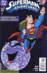 """""""Yesterday's"""" Comic> Superman Adventures#26"""