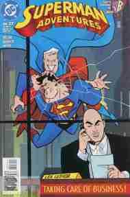 """""""Yesterday's"""" Comic> Superman Adventures#27"""