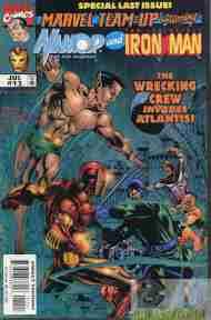 """Yesterday's"" Comic> Marvel Team-Up#11"