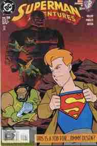 """""""Yesterday's"""" Comic> Superman Adventures#28"""