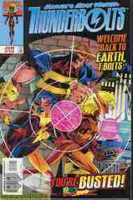 """Yesterday's"" Comic> Thunderbolts #15"