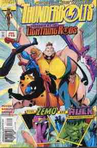 """Yesterday's"" Comic> Thunderbolts #16"