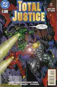 """Yesterday's"" Comic> Total Justice #2"