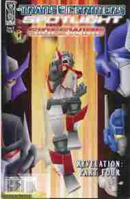 """Yesterday's"" Comic> Transformers Spotlight: Sideswipe"