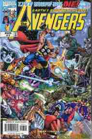 """Yesterday's"" Comic> Avengers vol. 3 #7 (Live Kree Or Die finale)"