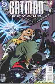 """Yesterday's"" Comic> Batman Beyond #2 (DCAU mini)"