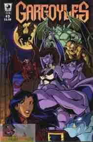 """""""Yesterday's"""" Comic> Gargoyles #3(SLG)"""