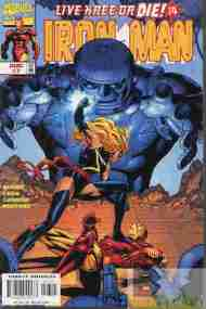 """Yesterday's"" Comic> Iron Man v3 #7"