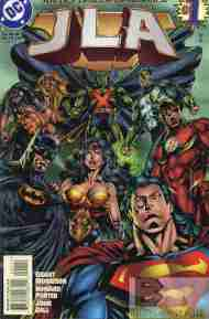 """Yesterday's"" Comic> JLA #1"