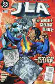 """Yesterday's"" Comic> JLA #2"