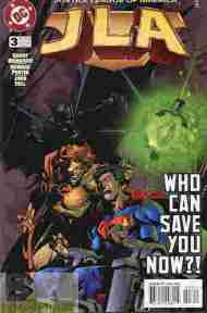 """Yesterday's"" Comic> JLA #3"
